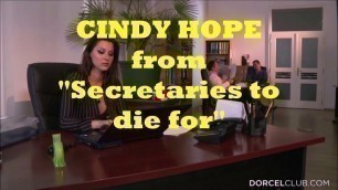 Movie Trailer: Cindy Hope from Secretaries to die for