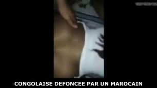 Un marocain defonce une congolaise