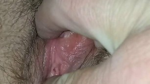 100 % Amateur very hairy pussy