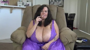 being submissive to big tits 2, joi