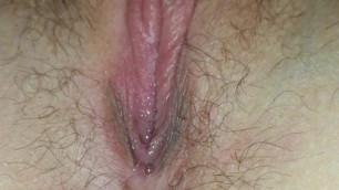 Girlfriend's little wet pussy