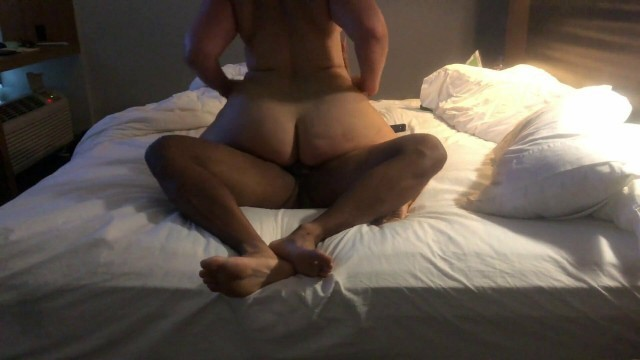 Thick ass pawg riding dick