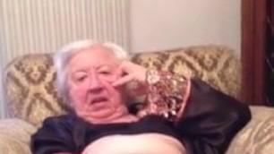Granny using carrot