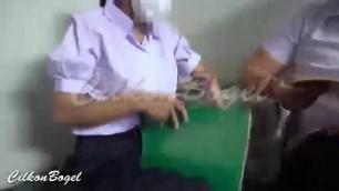 fucking a little student