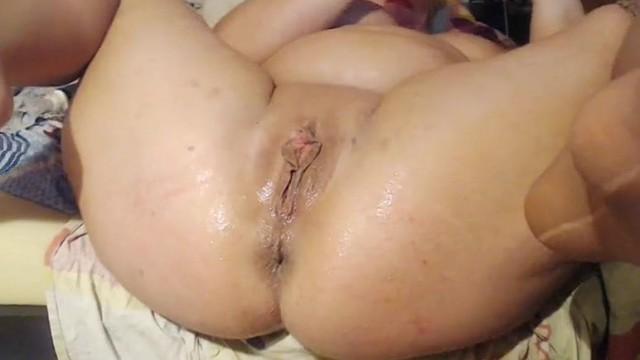 Bbw milf sex squirting dildo masturbation